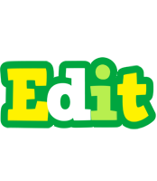 Edit soccer logo