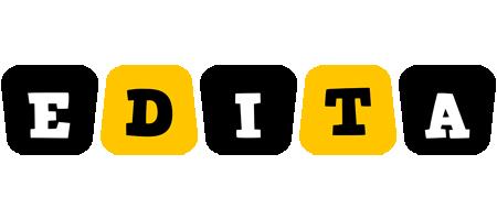 Edita boots logo