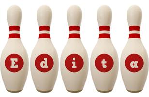 Edita bowling-pin logo