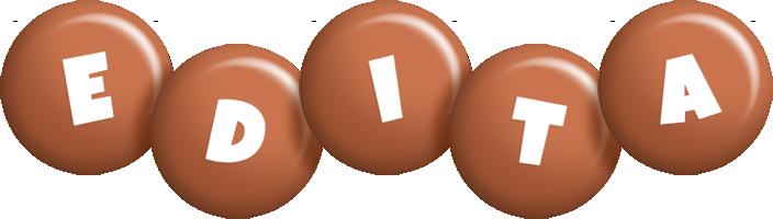 Edita candy-brown logo