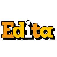 Edita cartoon logo