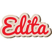 Edita chocolate logo