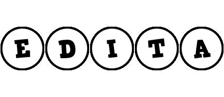 Edita handy logo