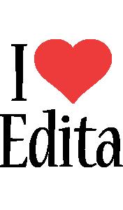 Edita i-love logo