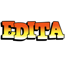 Edita sunset logo