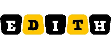 Edith boots logo