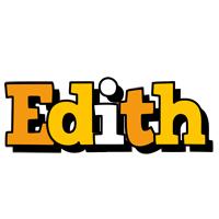 Edith cartoon logo