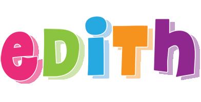 Edith friday logo