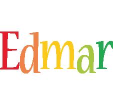 Edmar birthday logo