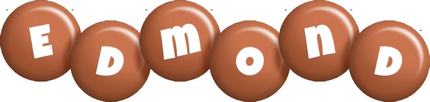 Edmond candy-brown logo