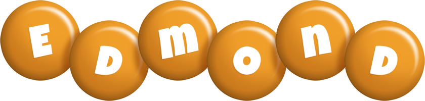 Edmond candy-orange logo