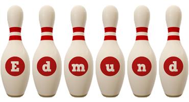 Edmund bowling-pin logo