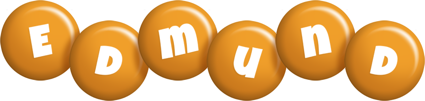 Edmund candy-orange logo