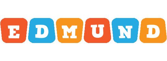 Edmund comics logo