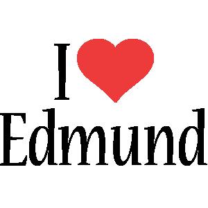 Edmund i-love logo