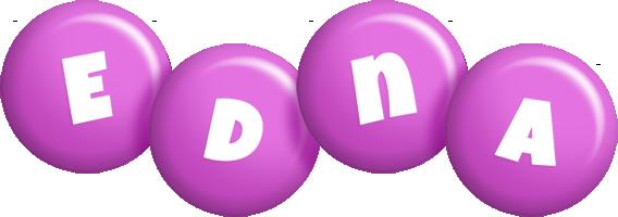 Edna candy-purple logo