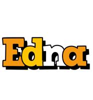 Edna cartoon logo
