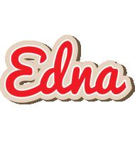 Edna chocolate logo