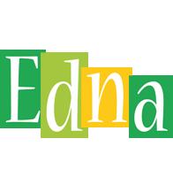Edna lemonade logo