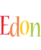 Edon birthday logo