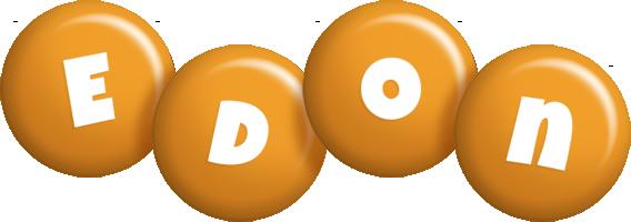 Edon candy-orange logo