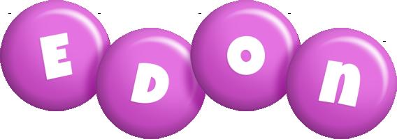 Edon candy-purple logo