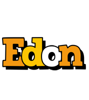 Edon cartoon logo