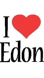 Edon i-love logo