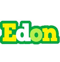 Edon soccer logo