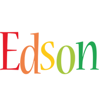 Edson birthday logo