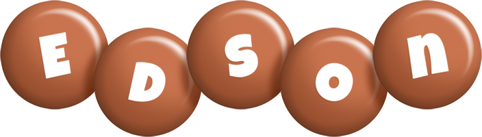 Edson candy-brown logo