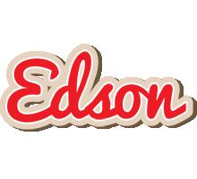 Edson chocolate logo
