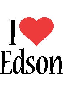 Edson i-love logo