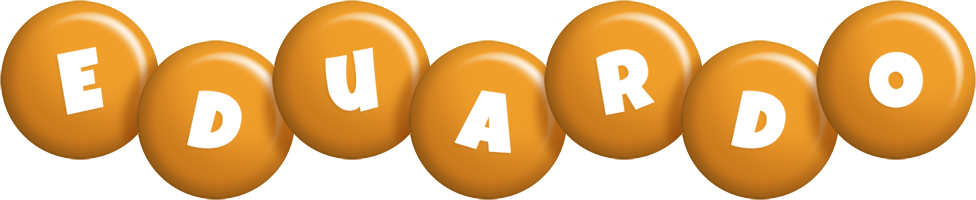 Eduardo candy-orange logo