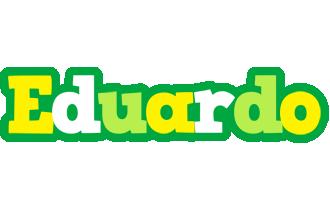 Eduardo soccer logo