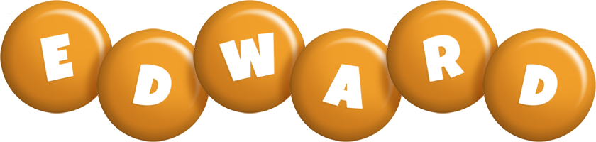 Edward candy-orange logo