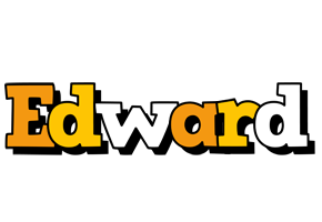Edward cartoon logo