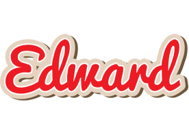Edward chocolate logo