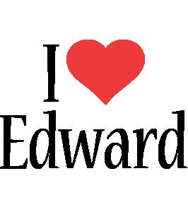 Edward i-love logo