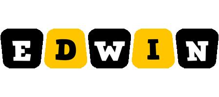 Edwin boots logo