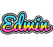 Edwin circus logo