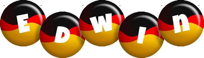 Edwin german logo