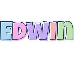 Edwin pastel logo