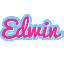 Edwin popstar logo