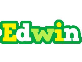 Edwin soccer logo