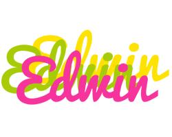 Edwin sweets logo