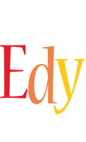 Edy birthday logo