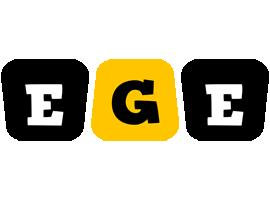 Ege boots logo