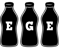 Ege bottle logo