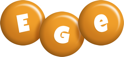 Ege candy-orange logo